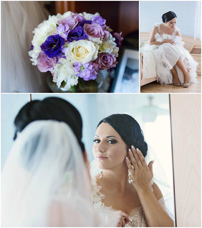 Bryllup i lilla og hvitt