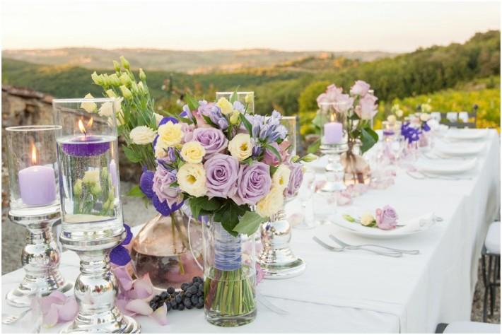 rustikt italiensk bryllup