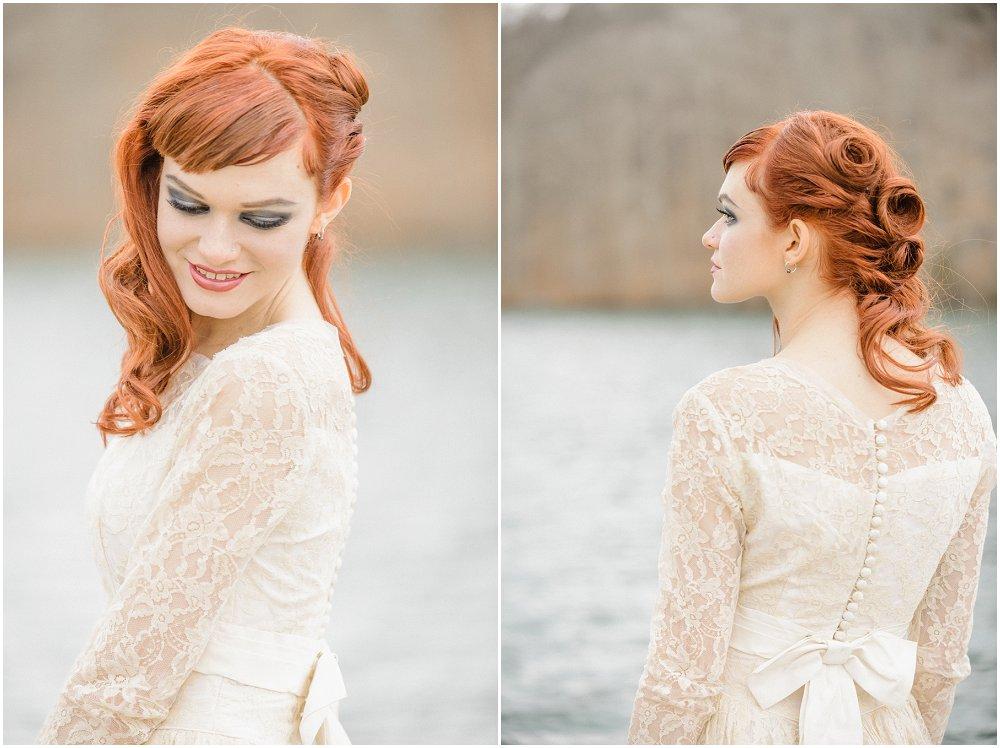 Vintage brudekjole - Styled photoshoot