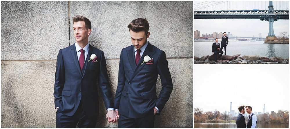 To menn gifter seg i New York