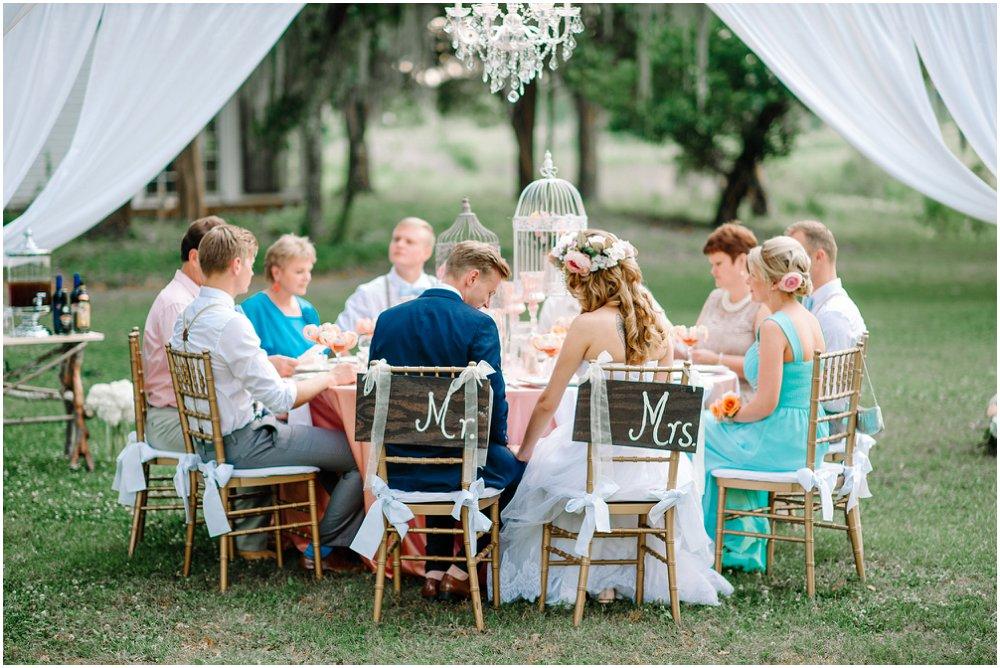 Pynt til bryllupsbordet