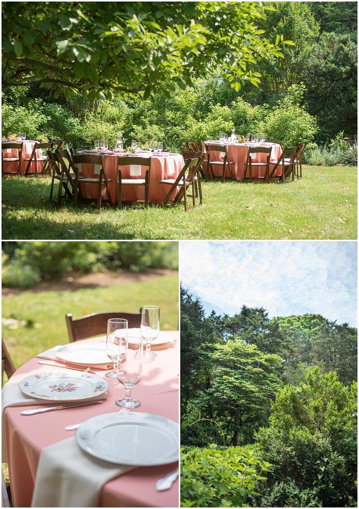 Inspirasjon til bryllupsfest i hagen ...