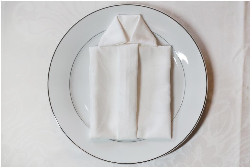 Brette servietter: Lag en skjorte