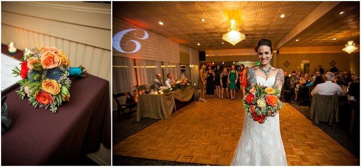 Rustikt natur bryllup