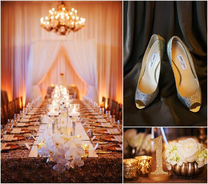 Overdådig og glamorøst bryllup