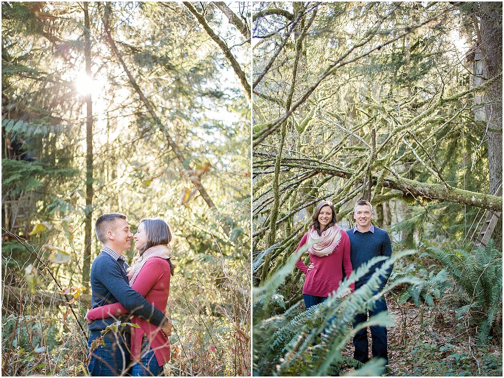 Utendørs høst forlovelse