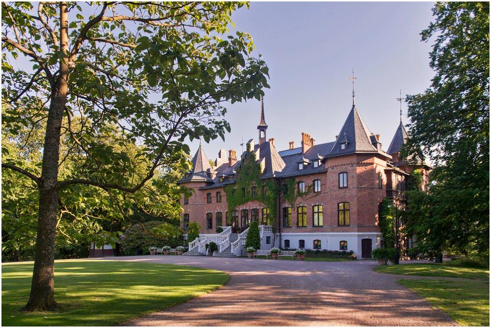 Sommerbryllup på svensk slott