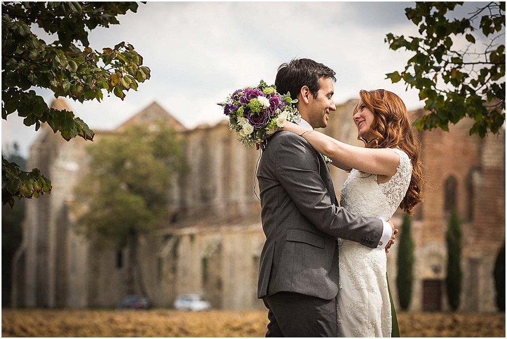 Romantisk italiensk bryllupet
