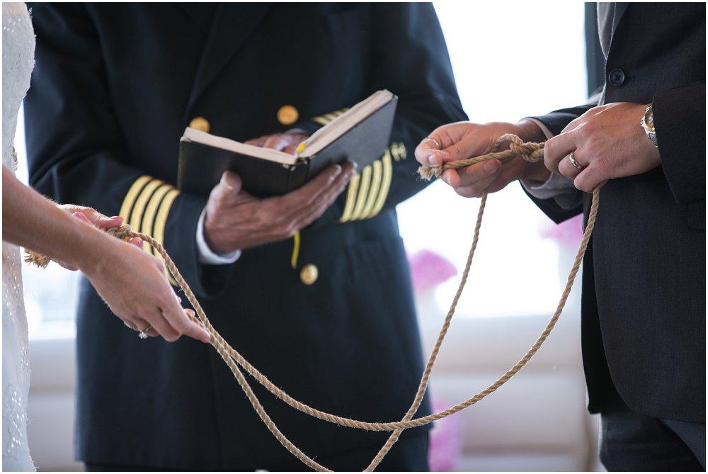 Gifte seg på båt